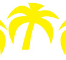 Ipanema Leblon Palms Sticker