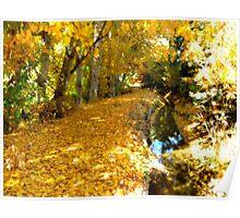 Nature's Golden Mattress Poster