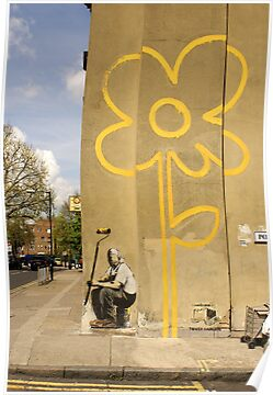 Banksy - Self Portrait? by Kiwikiwi