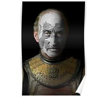 Tywin Lannister House Lion War Paint Poster