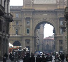 the hustle and bustle in firenze by foolingnobody