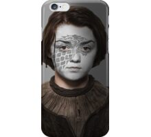 Arya Stark House Direwolf War Paint iPhone Case/Skin