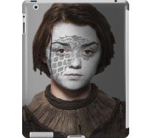 Arya Stark House Direwolf War Paint iPad Case/Skin