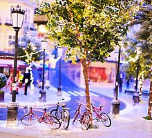 Mini-Streets: Double Bicycles by adpixels