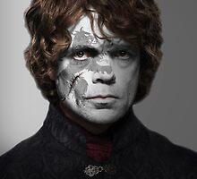 Tyrion Lannister House Lion War Paint by HilaryHeffron