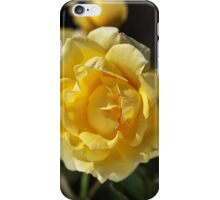Happy Yellow Rose iPhone Case/Skin