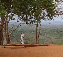 On Sigiriya Rock by Jonathan Dower