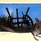hopping mouse by Liesl Yvette Wilson