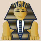 Businessman and banker Sphinx by hannu