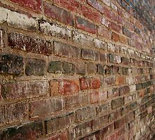 Bricks in Horizontal fade by Julie  Davison