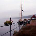 Seneca Lake Pier by Cheri Perry