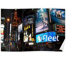 Time Square fandango Poster