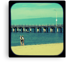 Little Nippers Canvas Print