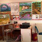 "Studio at TAFE by Belinda ""BillyLee"" NYE (Printmaker)"