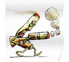 Cigarettes Can Kill Poster