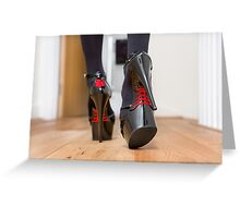 Heels with Style Greeting Card