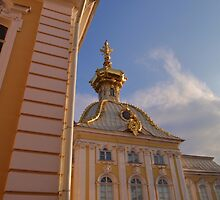 Peterhof Palace Russia by Malcolm Snook