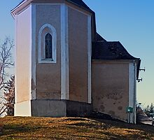 The village church of Hollerberg IV | architectural photography by Patrick Jobst