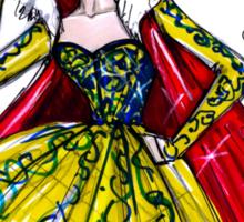 Vogue Snow White Sticker