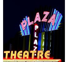 the plaza comes alive Photographic Print