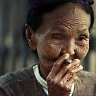 A Wizened Lady by Phil Gribbon