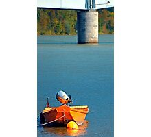 Boat on the river | landscape photography Photographic Print