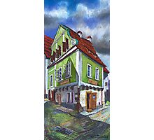 Chesky Krumlov Old Street 4 Photographic Print
