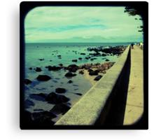 The Esplanade Canvas Print