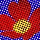 Pop Art Flower by Rebecca Silverman