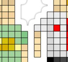 Shaun of the Dead - Pixel Art Sticker