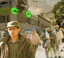 Getting Around in 22nd Century Gilgit by Kenny Irwin