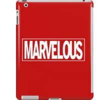 Marvel - ous iPad Case/Skin