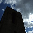 tower against the sky by Glosoli