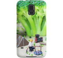 Camping Among Broccoli Jungles Samsung Galaxy Case/Skin