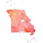 I Heart Missouri by Jeri Stunkard