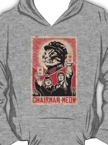 Chairman Meow - Communism - Commie - Mew - Cats T-Shirt