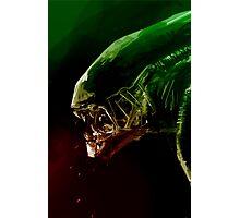 Alien Headshot Photographic Print