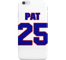 National football player Pat Moriarty jersey 25 iPhone Case/Skin