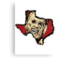 texas chainsaw wealder  Canvas Print