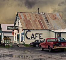 Cafe 1986 by Ron Day