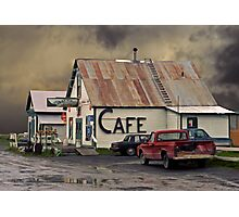 Cafe 1986 Photographic Print