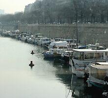 Port De Plaisance De Paris Arsenal by John Michael Sudol