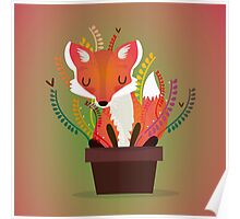 The fox in the pot Poster