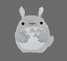 Fuzzy Totoro by Raven Nally