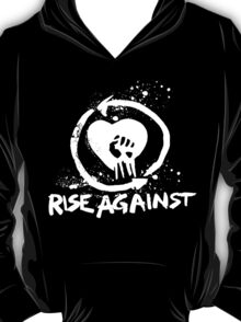 Rise Against-White T-Shirt