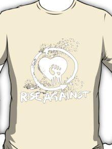 Rise Against-White T-Shirt