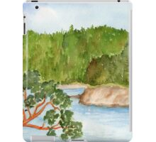 Bowman Bay Deception Pass, WA iPad Case/Skin