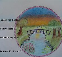 He Leadeth Me Beside the Still Waters by librapat