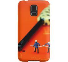 Fire Fighters And Fire Gun Samsung Galaxy Case/Skin