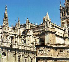 Butresses Flying at Sevilla by jadekrapsen